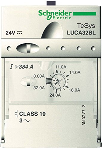 Preisvergleich Produktbild Schneider LUCA1XBL Standard-Steuereinheit Luca, Klasse 10, 0,35.1,4A, 24 V DC