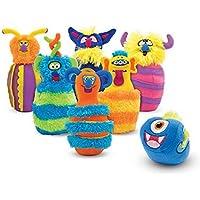 Toy Adventure–Melissa & Doug de Monster Bolos Parte plüsc hpins
