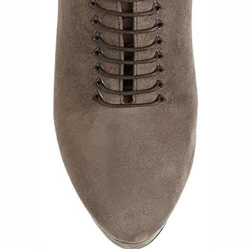L @ yc Cheville Bottes Femmes Bottines Talons Hauts Pantalons Pantalons Pantalons Printemps Et Automne Bottines Pour Cheville D'hiver / Brown Brown