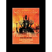 Mastodon - December 2017 UK Tour Dates Mini Poster - 40.5x30.5cm preiswert