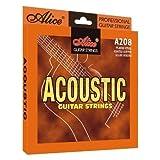 Alice - Cordes pour les guitares folk, acoustiques et electro acoustiques - Custom light 11/52