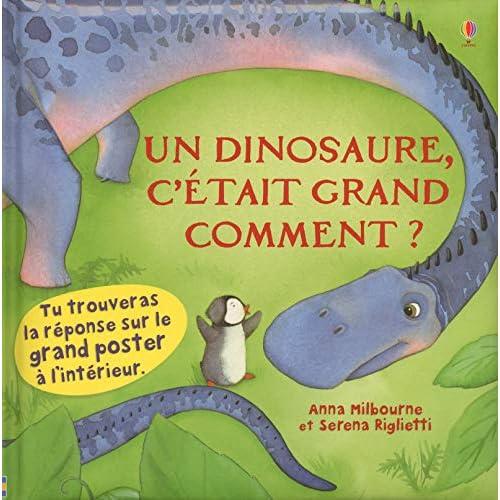 Un dinosaure, c'était grand comment ?