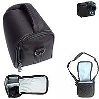 For Braun Master II: Shoulder bag / Carry bag Camera bag Protective sleeve Photo camera case travel case Accessory bag Rain protection, shockproof, anti shock black Dimensions: 13cm (5.1'') x 9.5cm (3