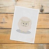 Postkarte Dreamchen Kinderzimmer Deko Schaf