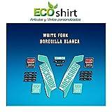 Ecoshirt O6-1GJ5-N71I Stickers Fork Rock Shox Xc32 2017 Am121 Autocollants pour...