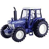 Britains - Tractor Ford TW15, color azul, blanco y negro (TOMY 43010)