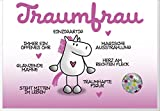 Humor Geburtstag Karte Grußkarte Extra Konfetti Freunde Traumfrau 16x11cm