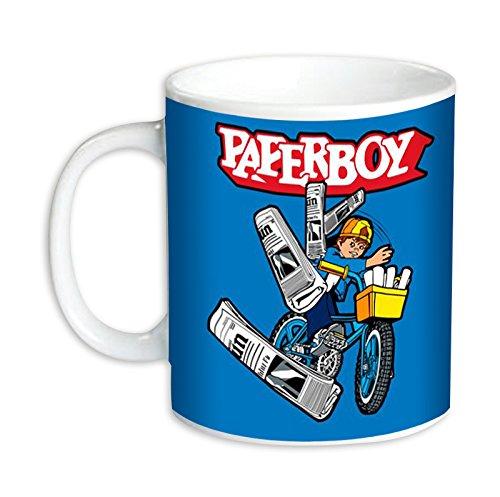 Paperboy Retro 8 bit Gamers Mug