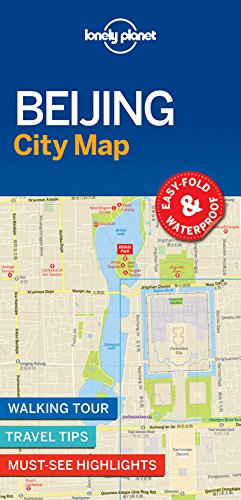 Beijing City Map - 1ed - Anglais par Lonely Planet LONELY PLANET