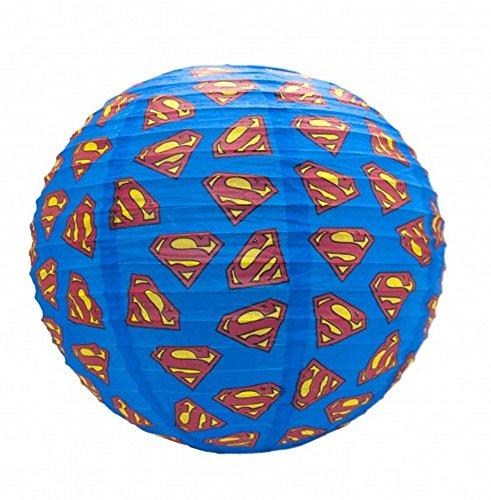 DC Comics-Papel lámpara techo-Superman-Logo