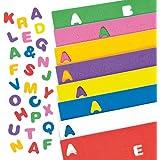 Letras Alfabeto mayúsculas autoadhesivas hechas de espuma para artesanía para niños (pack de 600)