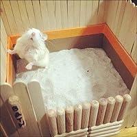 DreamAuro Bath Sand for Hamster, Dwarf, Gerbil, Chinchilla and Mice (200 g, Lemon Fragrance)