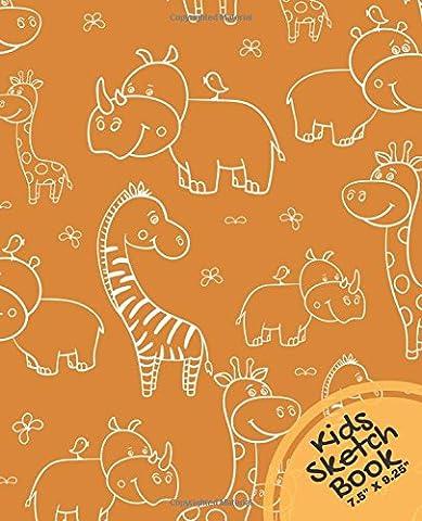 Kids Sketch Book 7.5