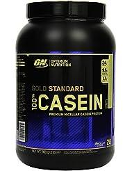 Optimum Nutrition Casein Protein  Creamy Vanilla, 1er Pack (1 x 908 g)