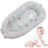Baby Lounger, MOGOI Tragbar Super Soft und atemberaubend Neugeborenes Baby Bassinet, komfortables und Abnehmbare Neugeborenes Cocoon Snuggle Bett für Säuglinge & Kleinkinder 0-24 Monat (Weiß)