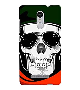 Chiraiyaa Designer Printed Premium Back Cover Case for Xiaomi Redmi Note 3 (Skeleton) (Multicolor)