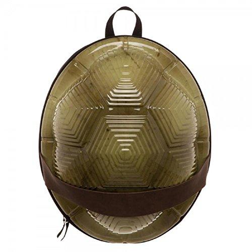 (Offizielle Teenage Mutant Ninja Schildkröten 3D geformt Hard Shell Rucksack Tasche)