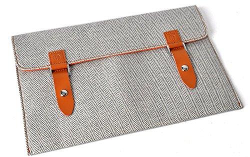 6zoll-ebook-reader-tweedstoff-tasche-hulle-sleeve-schutzhulle-smart-cover-mit-edlem-emblem-verschlus
