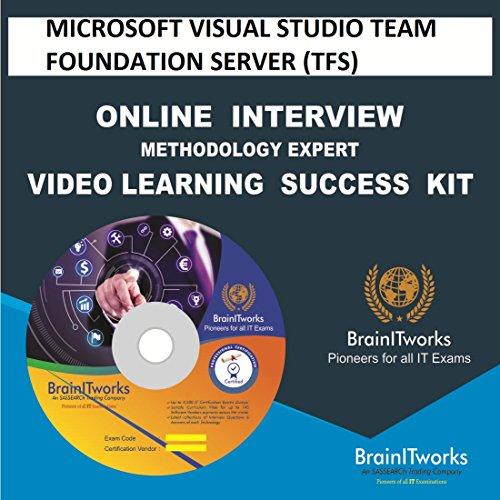MICROSOFT VISUAL STUDIO TEAM FOUNDATION SERVER (TFS) Online Interview video learning SUCCESS KIT