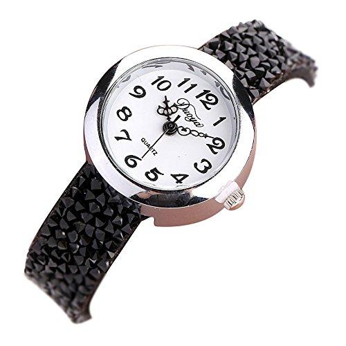Sunnywill Duoya Frauen Mädchen Damen Schöne Mode Design Analog Quarz Armbanduhren Uhr für Weibliche