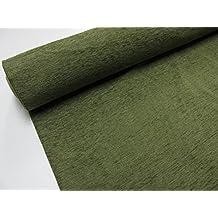 Confección Saymi - Metraje 0,50 mts. tejido Chenilla color Oliva con ancho 2,80 mts.