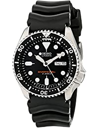 """Seiko Mens Watch Automatic Diver's Analog"