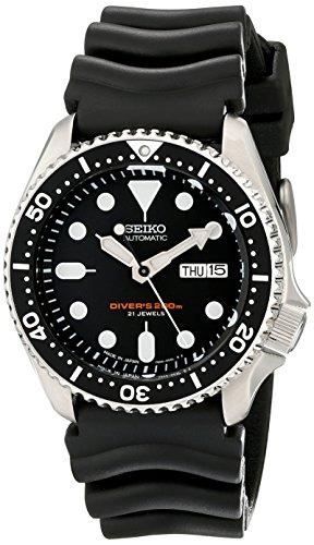 Seiko Pour des hommes Watch Automatic Diver's JAPAN montre SKX007J1