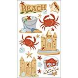 Sticko Stickers-Beach & Crabs