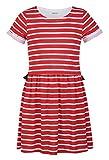 SbuyS Girl's Red & White Stripe Two-Fer ...