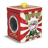 Natives 211245cioccolato caramelle dolci barattolo con finestra metallo 12.5x 12.5x 14.5cm multicolore