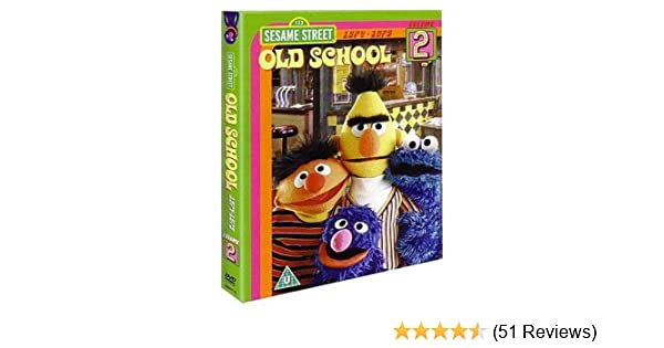 Sesame Street Old School Volume 2 [DVD]: Amazon co uk: DVD