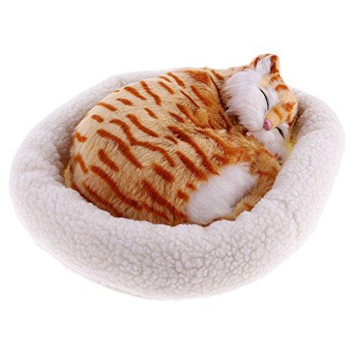 MagiDeal Süße Plüschtier schlafende Tiere Spielzeug Kinder - Garfield -