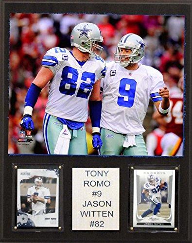 C & I Collectables NFL Tony ROMO und Jason Witten Dallas Cowboys Spieler-Plakette, braun, 30,5 x 38,1 cm
