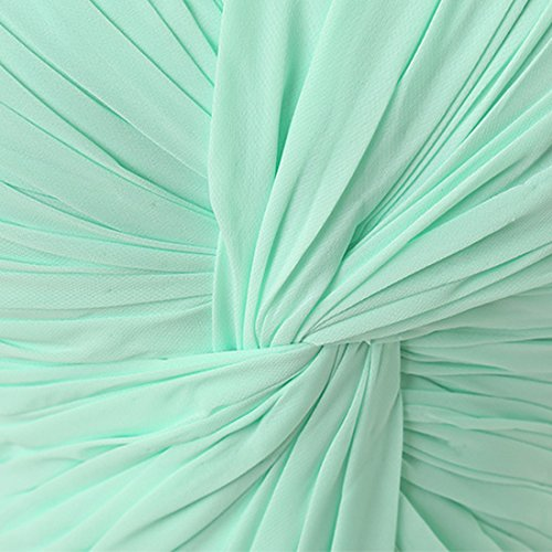 Find Dress Femme Sexy Robe de Soirée/Cocktail/Cérémonie avec Plis Robe Formelle Bustier Lacet Longue en Mousseline de Soie Gris
