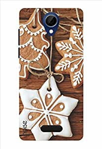 Noise Christmas Cookies Printed Cover for Gionee Marathon M4
