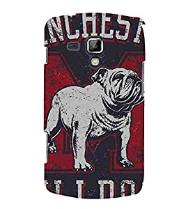 Cartoon, Black, Cartoon and Animation, Printed Designer Back Case Cover for Samsung Galaxy S Duos 2 S7582 :: Samsung Galaxy Trend Plus S7580