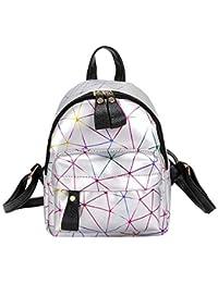 b45f97c70c55 OneMoreT Women Mini Backpack Shoulder Bag PU Leather Backpack Female Girls  Fashion Travel Daypacks Teenager School