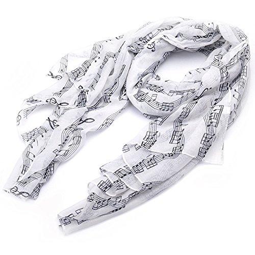 ruck Mode leichten langen Schal (01003407) (Weiß) ()