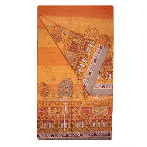 Telo arredo bassetti correggio copriletto grand foulard cm 180 x 270 cotone