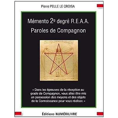 Memento 2e Degré Reaa Paroles de Compagnon