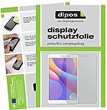 dipos I 2X Schutzfolie matt passend für Huawei MediaPad T3 10 Folie Displayschutzfolie