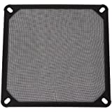 BQLZR Black 14cm 140mm PC Computer Chassis Fan Dustproof Filter Mesh Metal Strainer