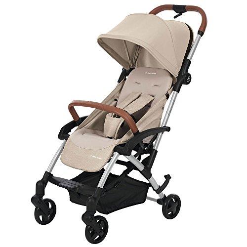Maxi-Cosi Laika Kompakt Buggy, ideal für unterwegs, leicht, kompakt und flexibel, nomad sand/beige