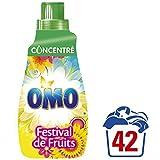 Omo Lessive Liquide Concentrée Fruits et Fleurs d'Eté 84 Lavages