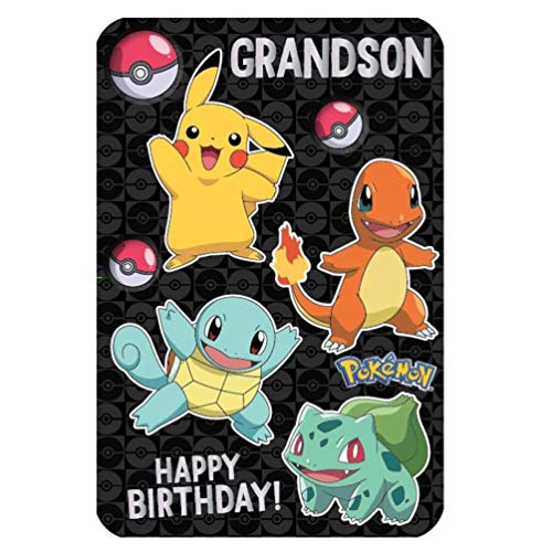 Pokemon Grandson Anime Große Geburtstagskarte 250589