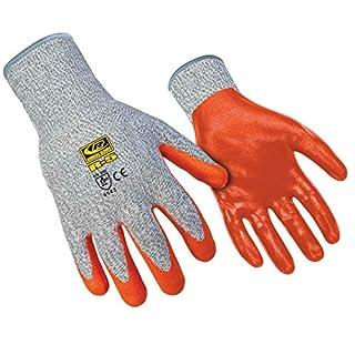 Ringers Gloves R-5 R-Flex Nitrile, High Dexterity Glove, Nitrile Dipped, CE Level 5 Cut Protection, Medium