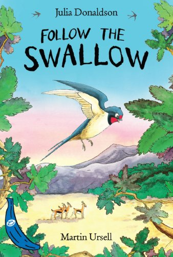 Follow the Swallow: Blue Banana (Banana Books) (English Edition) -