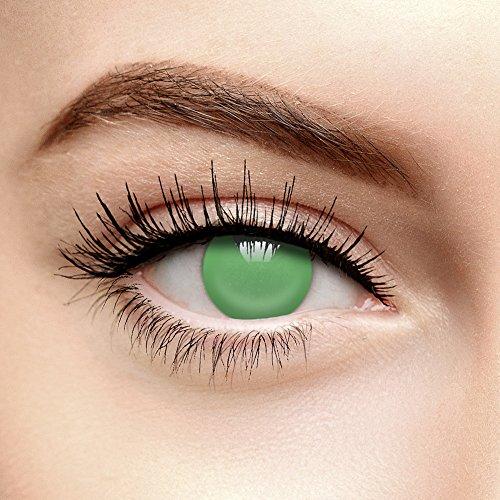 Coloured Contacts Farbige Kontaktlinsen Ohne Stärke Blind Grün (Tageslinsen)