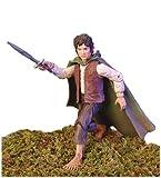 De el Señor de los anillos las dos torres Frodo figura de acción con Light-Up Sting Espada