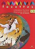 Image de Facettes CE2 Cycle 3 : Littérature/Ecriture Observation réfléchie de la langue